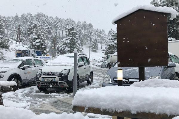 ILLUSTRATION / Le col de Vizzavona est ouvert aux véhicules équipés