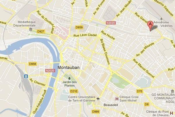 L'impasse Nicolas Poussin se situe au Nord-Ouest de Montauban, non loin du quartier de l'aérodrome