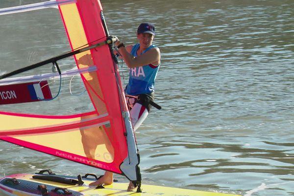Charline Picon repart pour une nouvelle aventure olympique.