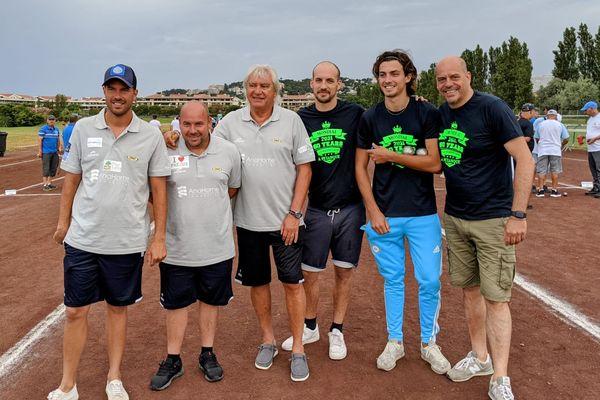 Rocher, Robineau Foyot battent Romain, Timothé et Renaud Terrazi en ouverture du tournoi.