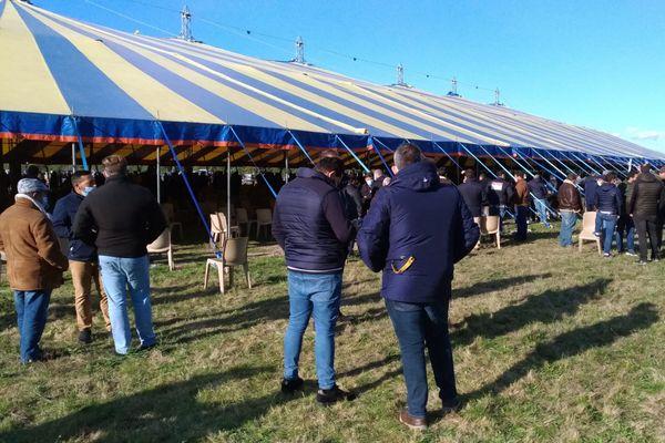Le rassemblement de pasteurs évangéliques, à Nevoy (Loiret)