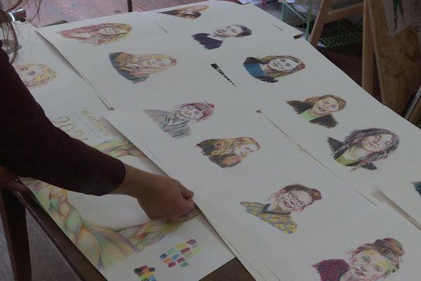 Les douze femmes artistes qui composent le calendrier 2021 de Cécilia Pepper