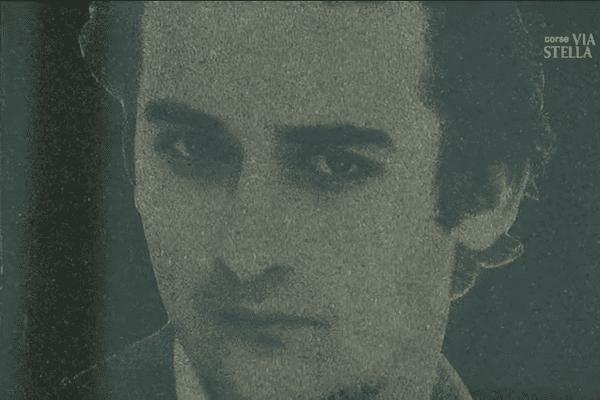 Portrait du militant nationaliste corse Guy Orsoni, disparu le 17 juin 1983.