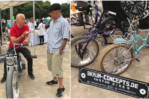 """Pour Herr Braun, customiser les vélos est """"bien plus qu'un hobby""""."""