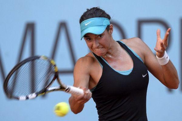 Caroline Garcia affronte Agnieszka Radwanska à Madrid (09/05/14)