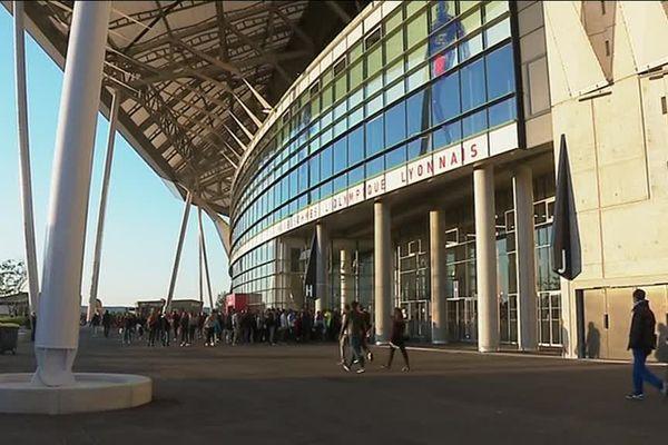 Le stade de l'Olympique Lyonnais- 29/04/2017