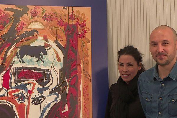 C'est une œuvre de José Pirès qui a été choisie pour incarner la Féria 2020 à Nîmes. Un hommage à l'artiste peintre nîmois décédé en janvier. Ses  3 fils et sa compagne ont proposé la toile à la mairie de Nîmes.