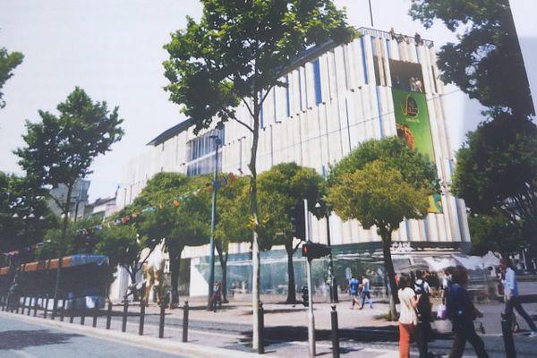 Marseille : salles de cinéma, restaurants, lieux de vie, c'est le projet de la société Artplexe qui ouvrira fin 2021 sur la Canebière.