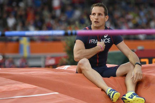 Renaud Lavillenie rentre des championnats d'Europe 2016 à Amsterdam avec un zéro pointé.