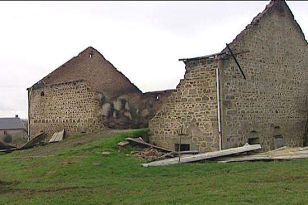 En octobre 2008, la grange de Jean-hugues Bourgeois avait été incendiée.