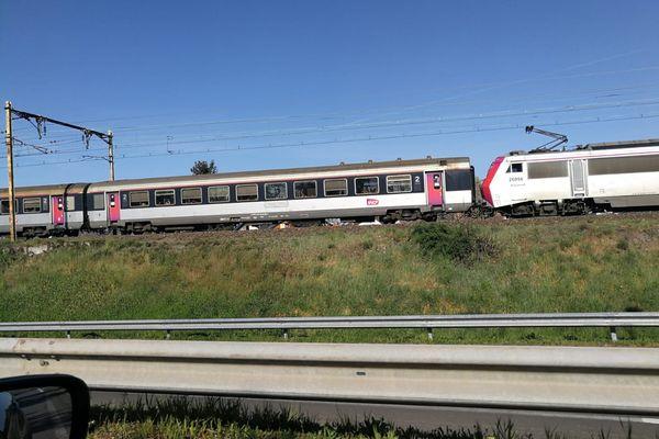 L'accident a eu lieu aux alentours de 16h ce samedi 24 avril