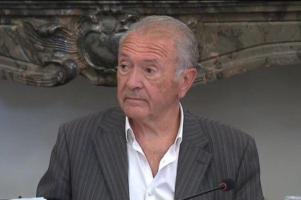Le maire PS de Limoux Jean-Paul Dupré le 22 juin 2017