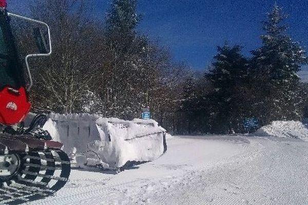 La station de ski de Prat-Peyrot se prépare à ouvrir ses portes aux skieurs.