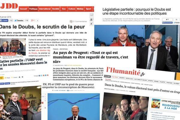 La législative partielle du Doubs vue par la presse nationale