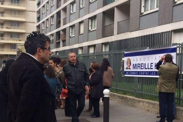 L'association Mireille Knoll, créée par la famille de l'octogénaire tuée en mars 2018, organisait un rassemblement ce samedi matin à Paris.