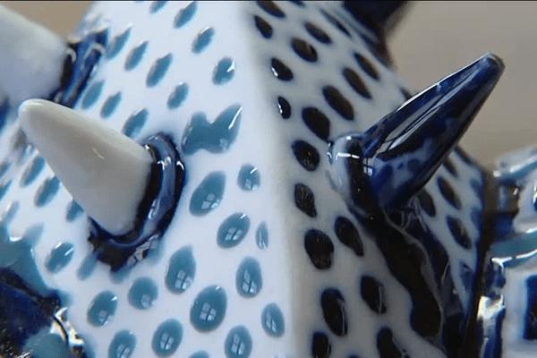 Une armure de Richard III en porcelaine est en cours de réalisation aux Porcelaines de la Fabrique à Limoges