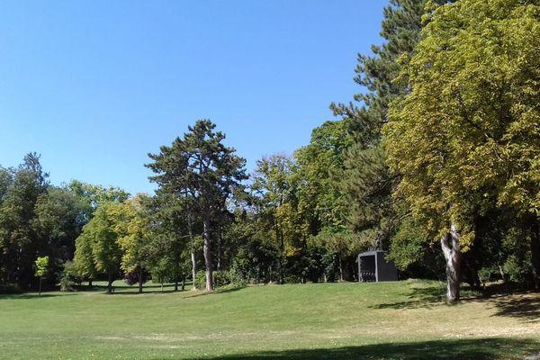 Le vaste parc de Champagne est un endroit prisé pour organiser des évènements divers et variés.