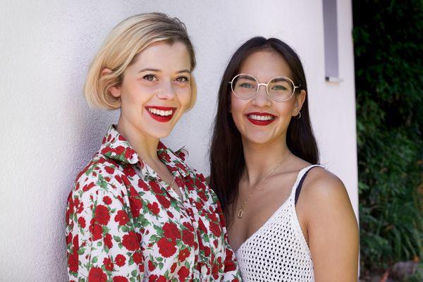 Florine Muller et Kate Le-Van-Phung s'engagent contre le cancer du sein.