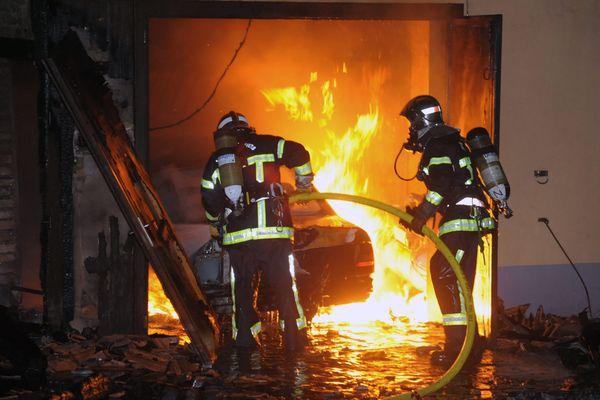 43 sapeurs-pompiers sont intervenus