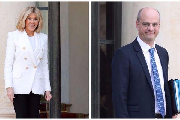 Brigitte Macron et Jean-Michel Blanquer