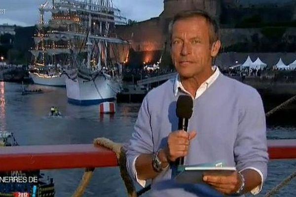 Laurent Bignolas en direct de Brest (17 juillet 2012)