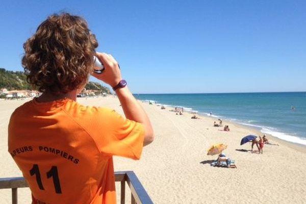 Surveillance des plages de L'Aude