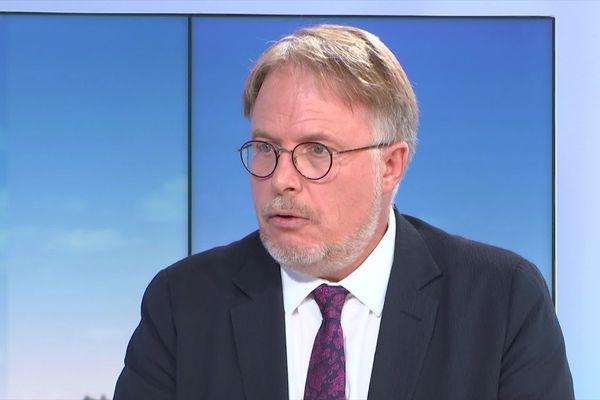 Le maire de Chenôve, Thierry Falconnet, était l'invité du JT de 19h, ce mardi 22 octobre.