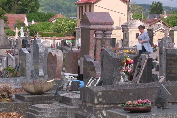 Le cimetière des Capucins à Vernon