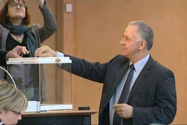 André Villiers, réélu Président du département de l'Yonne