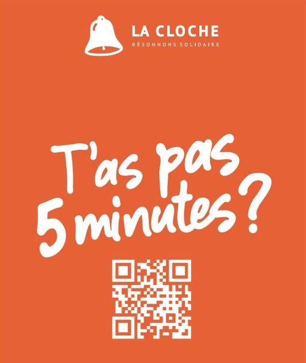 L'affiche de la campagne de communication de La Cloche
