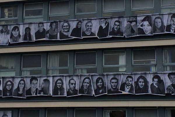 Le lycée polyvalent Rive gauche de Toulouse veut casser son image avec cette exposition.