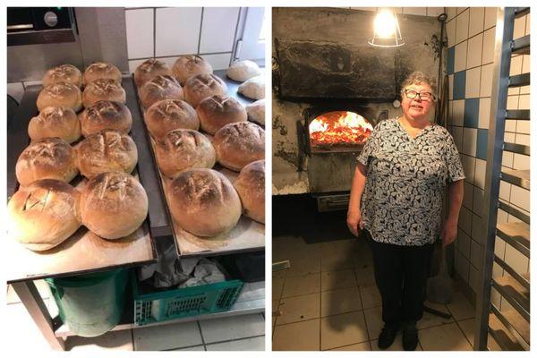 Christiane Klein est éleveuse et fait du pain depuis 40 ans.