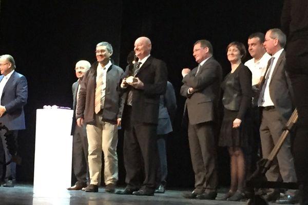 la remise des prix de l'entrepreneur de l'année, à Paris
