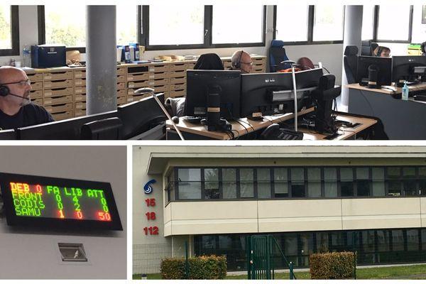 Le Centre de traitement et de régulation de l'alerte (CETRA) à Chambray-lès-Tours