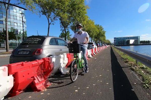 Au Havre, 6 kilomètres supplémentaires de pistes cyclables sont testés depuis le printemps