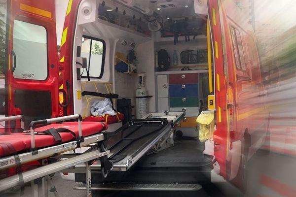 Un homme a été grièvement blessé dans l'accident.