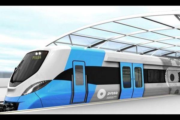 """Le site Alstom du Creusot, en Saône-et-Loire, va fabriquer des bogies pour une partie des 600 trains de banlieue de six voitures commandés par l'Afrique du Sud : c'est le """"plus gros contrat de l'histoire d'Alstom"""""""