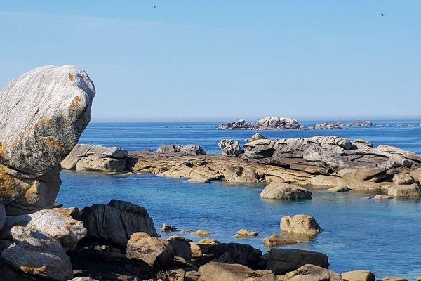 Les rochers de Brignogan - Rita Pov