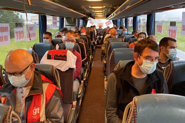 8O salariés des Fonderies en route pour Le Mans