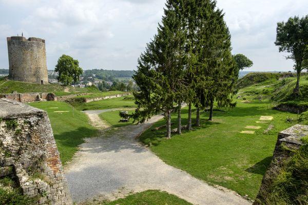 Les extérieurs et jardins du familistère de Guise peuvent être visités