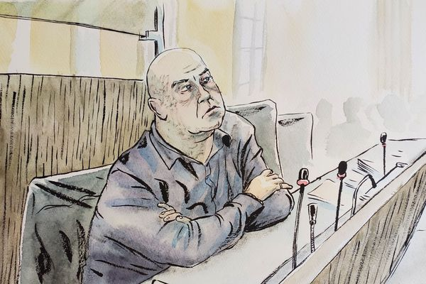 Willy Bardon au tribunal d'Amiens, le 27 novembre 2019.