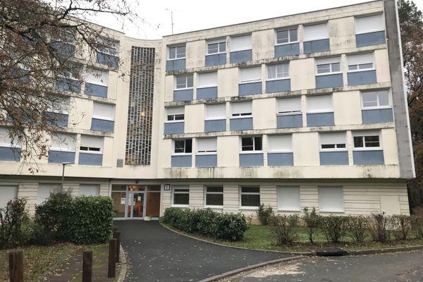 La résidence universitaire Grandmont à Tours