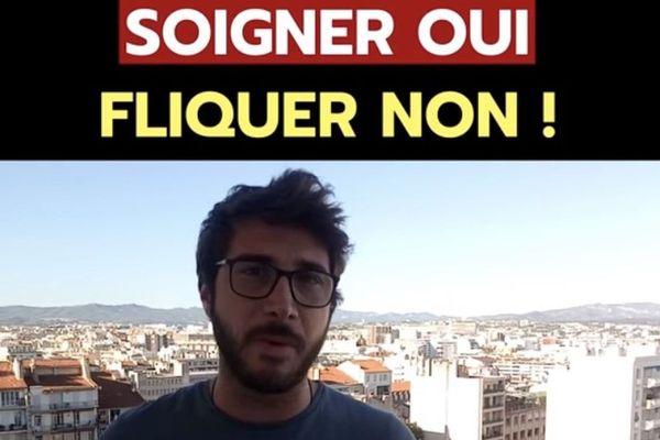 """Médecin généraliste à Marseille, Karim Khelfaoui dénonce le """"naufrage de notre système de santé publique""""."""