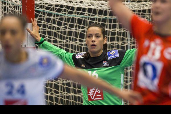 Cléopâtre Darleux, gardienne du BHB, est sélectionnée avec l'équipe de France pour les rencontres de qualifications de l'Euro 2020.