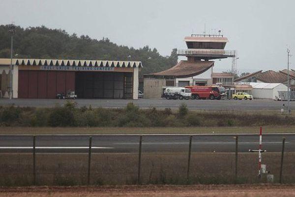 L'aéroport d'Angoulême.