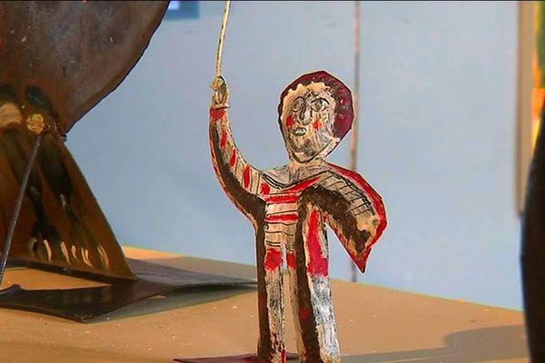 Les oeuvres du peintre céramiste Raymond Debiève disparu en 2011 sont exposées au Dortoir des Moines de l'Abbaye de Brantôme