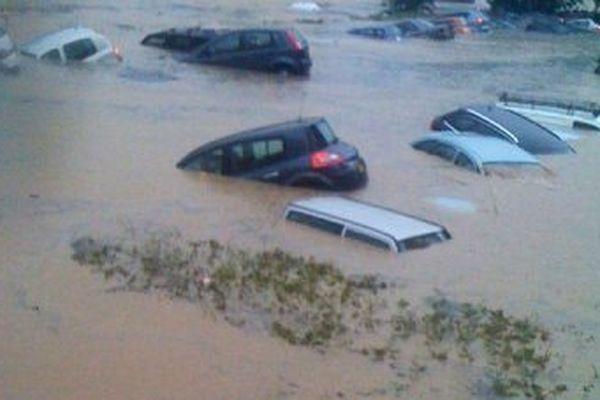 Juin 2010 inondations dans le var