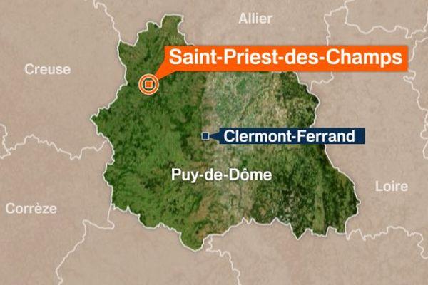 Commune de Saint-Priest des Champs