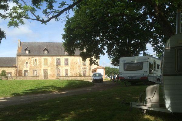 Les gens du voyage se sont installés sur le site de la Bégraisière