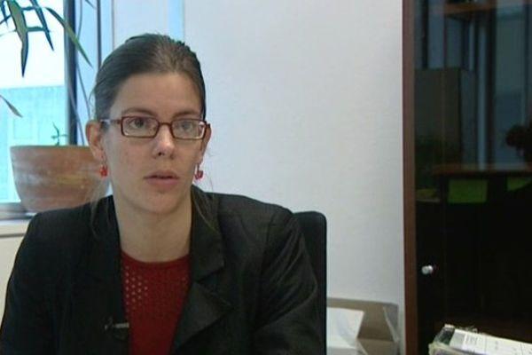 Lucille Lheureux, adjointe au maire en charge de l'espace public à Grenoble